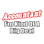 Funny accountant t-shirts and gifts for accountants.