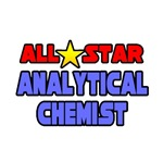 'All Star Analytical Chemist' shirts and apparel