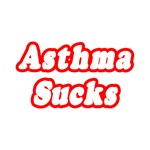 'Asthma Sucks' shirts and gifts