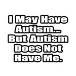 'Autism Fighting Quote' shirts and gifts