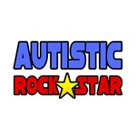 'Autistic Rock Star' autism gifts and apparel
