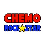 'Chemo Rock Star' chemo shirts and chemo patient gifts