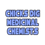 'Chicks Dig Medicinal Chemists' shirts and gifts