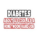 'Diabetes Is Not Cool' funny diabetes shirts and gifts