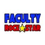 'Faculty Rock Star' teacher shirts and apparel