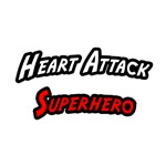 'Heart Attack Superhero' shirts and gifts