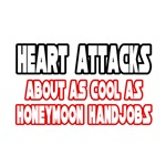 'Heart Attacks...Not Cool' funny shirts and gifts for heart attack survivors