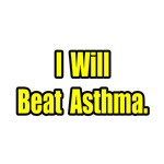 'I Will Beat Asthma' t-shirts and apparel