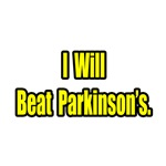 I Will Beat Parkinson's gifts and t-shirts