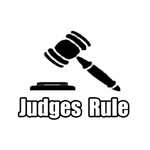 'Judges Rule' funny shirts and gifts for judges
