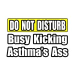 'Kicking Asthma's Ass' Gifts and T-Shirts