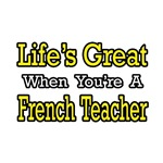 'French Teacher' shirts and gifts