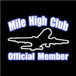'Mile High Club' shirts and apparel