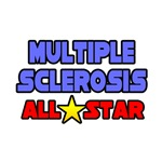 'Multiple Sclerosis All Star' t-shirts and gifts