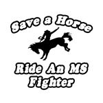 'Ride an MS Fighter' shirts and apparel