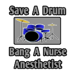 Fun shirts and gifts for nurse anesthetists. Cool nurse anesthetist t-shirts and gifts.
