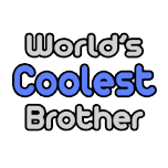 Proud brother shirts and apparel. Gifts and shirts for brothers.