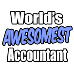 Awesome accountant shirts, cool accountant t-shirts